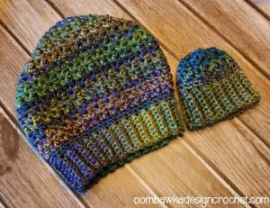 Joyful and Bright Slouch Free Hat Pattern Oombawka Design Crochet