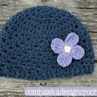 Preemie Size Hope Hat in Cotton