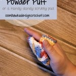 Crochet Powder Puff Pattern @OombawkaDesign