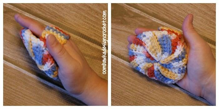 Crochet Puff Pattern @OombawkaDesign