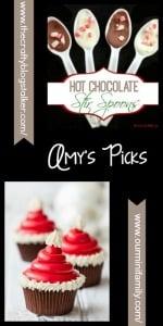 Feature. Hot Chocolate Stir Spoons DIY. Oombawka Design.