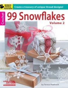 Excerpted from 99 Snowflakes, Volume 2. Leisure Arts, Inc