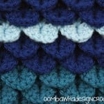 Crocodile Stitch Tutorial @OombawkaDesign