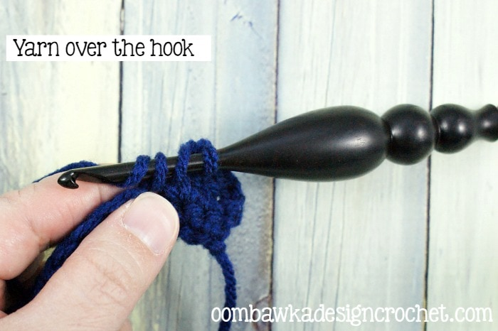 5 How To Double Crochet @OombawkaDesign