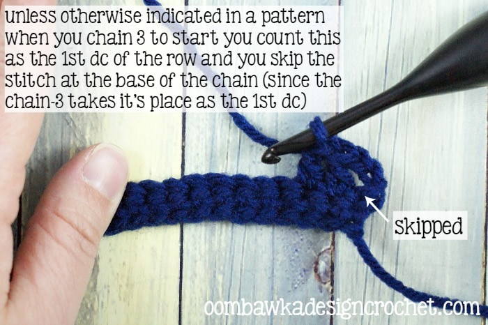 How To Double Crochet @OombawkaDesign