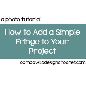 Create a Simple Fringe Tutorial @OombawkaDesign