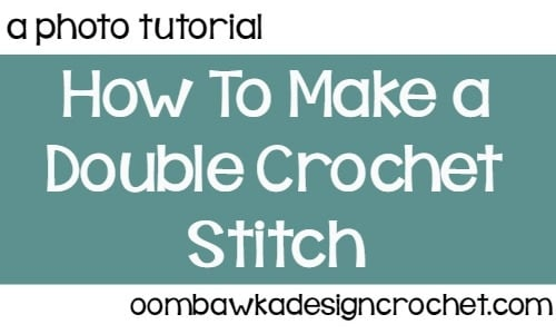 Double Crochet @OombawkaDesign