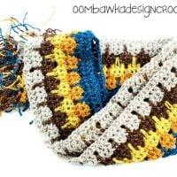 Little Bit of Bling Scarf Pattern by Oombawka Design Crochet