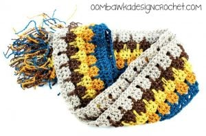 Little Bit of Bling Scarf Pattern by Oombawka Design Crochet