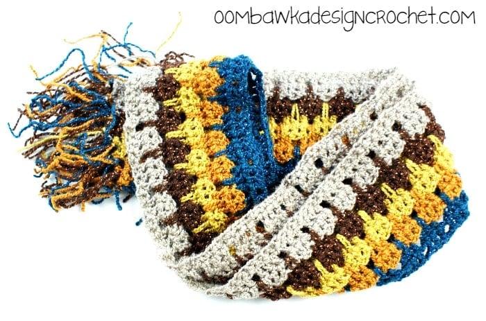 LittleBitofBlingScarf @OombawkaDesign