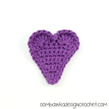 PurpleTriangleHeart @OombawkaDesign