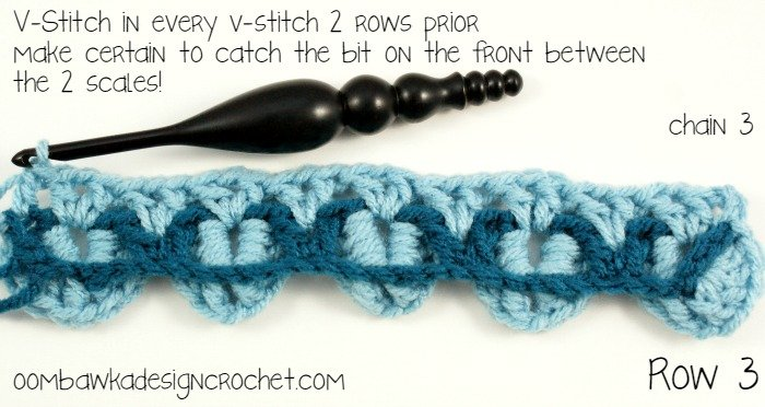 Crocodile Stitch Tutorial R3 @OombawkaDesign