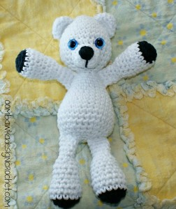 Bearison The Bear Crochet Pattern