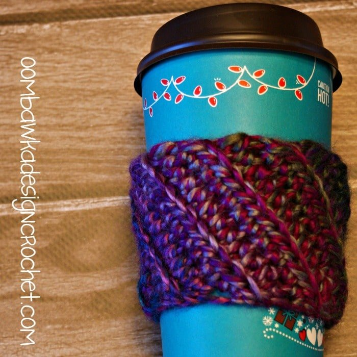 Coffee Sleeve Stashbuster @OombawkaDesign