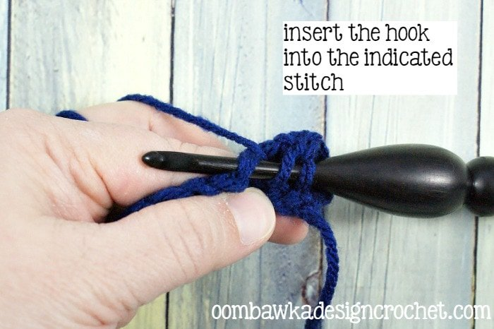 3 How To Double Crochet @OombawkaDesign