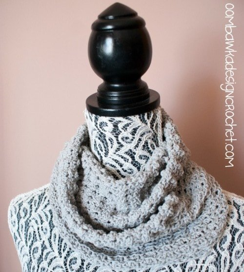 Soft Cloud Cowl @OombawkaDesign