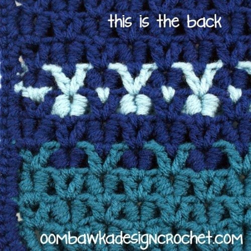 Crocodile Stitch Back @OombawkaDesign