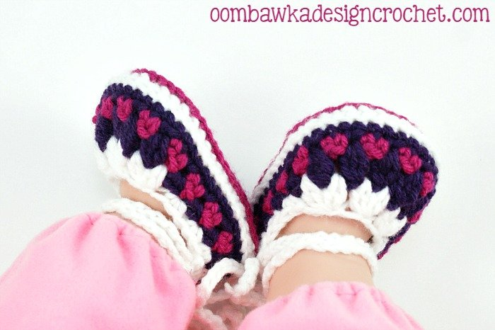 Baby Booties @oombawkadesign