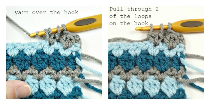 Crochet Stitches Dc3tog : ... crochet 2 stitches together, dc3tog - double crochet 3 stitches
