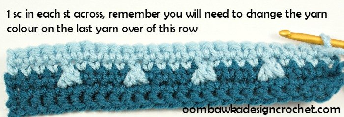 Row 5 Colourful Stripes Tut @OombawkaDesign