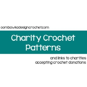 Crochet for Charity Patterns and Link List!