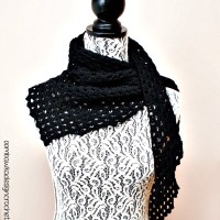 Dark Comfort Shawl | Free Pattern