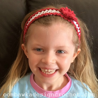 Darla's New Headband @OombawkaDesign