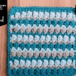 Fiona's Afghan Square @OombawkaDesign