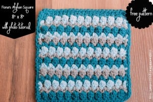 Fiona's Afghan Square Pattern and Crochet Stitch Tutorial