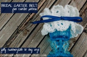 Don't Break Wedding Tradition! Crochet Bridal Garter Pattern