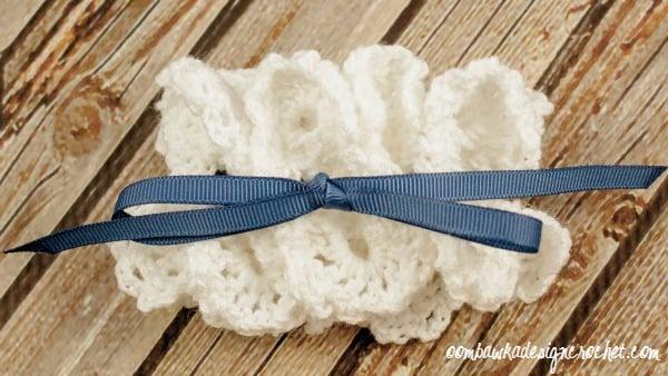 Bridal Garter Crochet Pattern @OombawkaDesign