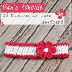 Mom's Favourite 20 Minute or Less Headband @OombawkaDesign