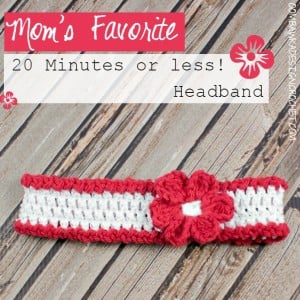 Mom's Favorite 20 Minutes or less! Headband