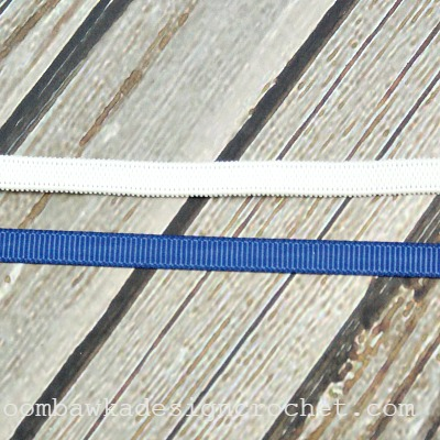 6mm Elastic and Ribbon @OombawkaDesign