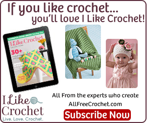 I Like Crochet April @OombawkaDesign