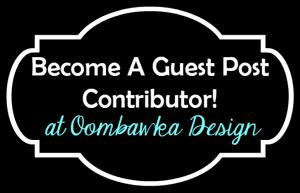 Guest Post Contributor @OombawkaDesign