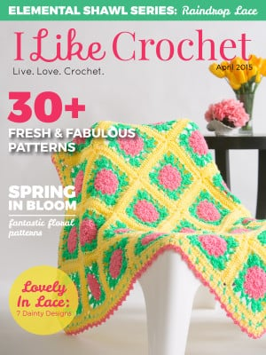 I Like Crochet April Issue @OombawkaDesign