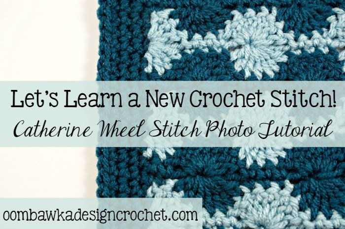 Catherine Wheel Stitch Photo Tutorial @OombawkaDesign