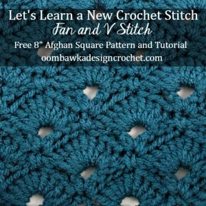 LLANCS Fan and V Stitch Tutorial @OombawkaDesign
