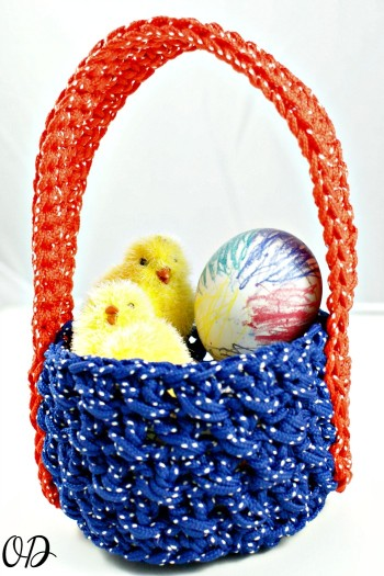 Easter Basket How To @OombawkaDesign