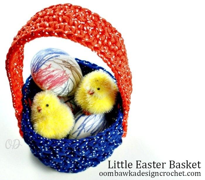 Darla's Easter Basket @OombawkaDesign