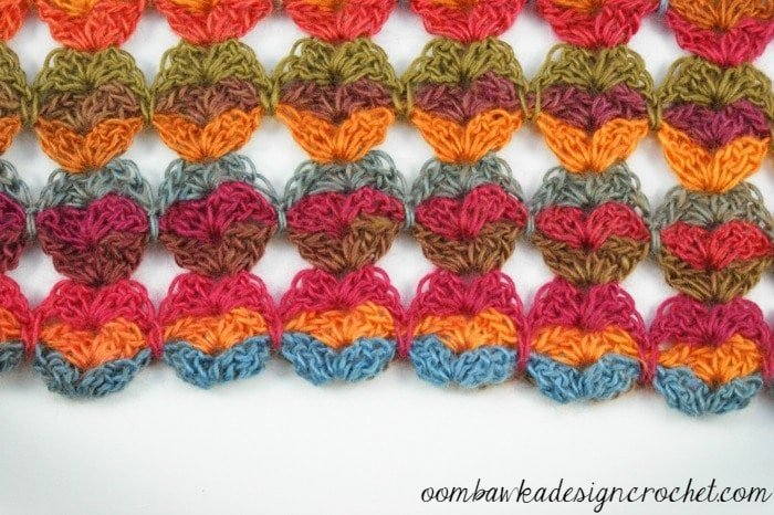 Summer Shawl - Globes Closeup - @OombawkaDesign
