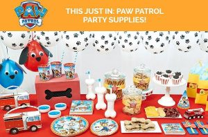 PAW Patrol Party Supplies available at Birthday Express!