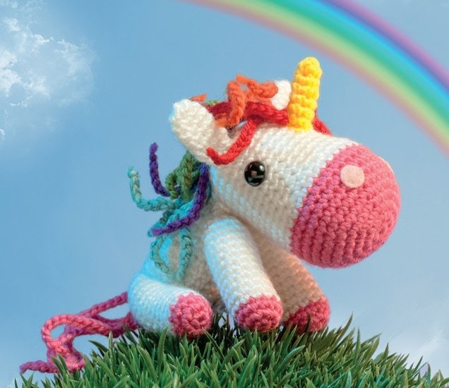 Shy Little Unicorn @OombawkaDesign