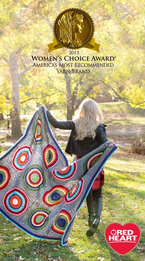 Red Heart Women's Choice Award Giveaway @OombawkaDesign