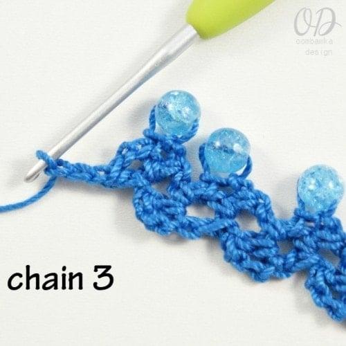 Ch 3 Sweetheart Beaded Choker @OombawkaDesign