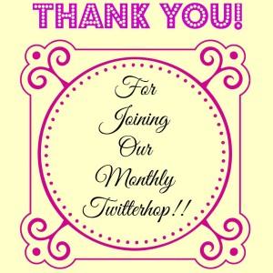 Twitterhop Thank you