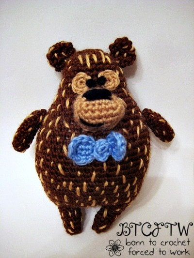 Beary 13   Guest Post Contributor   Born to Crochet Forced to Work @OombawkaDesign