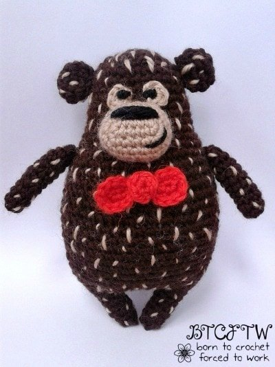 Guest Post Beary   Born to Crochet Forced to Work @OombawkaDesign