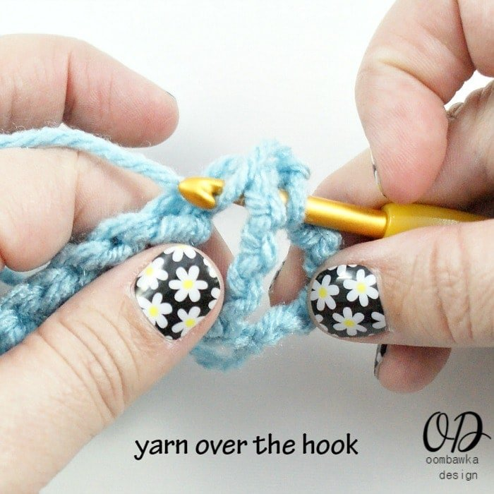 Crochet Yoh : FPsc, FPhdc and FPdc Stitch Tutorials ? Oombawka Design Crochet